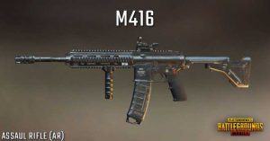 best gun in pubg, features of m416, HK416 rifle, m416 gun, m416 gun features, pubg guns, pubg mobile