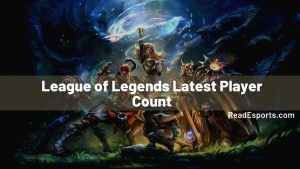 League of Legends Latest Player Count
