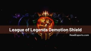 What Does Demotion Shield Expiration Mean in League Of Legends?