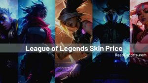 How much would it Cost to Buy every Skin in the League of Legends?