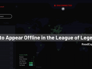 How to Appear Offline in the League of Legends?