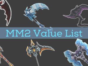 mm2 value list